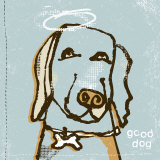 Good Dog Art by Peter Horjus