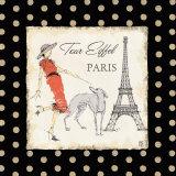 Ladies In Paris II Poster by Avery Tillmon