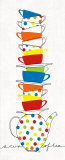 Stacks of Cups I Poster von Avery Tillmon