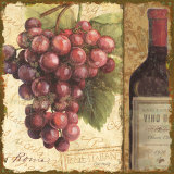 Vino II Poster by Lisa Audit