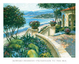 Promenade to the Sea Posters by Howard Behrens