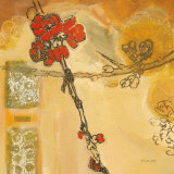Flowering Quince I Print by Lisa Snow Lady