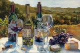A Wine Tasting Prints by Marilyn Hageman