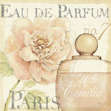 Fleurs and Parfum II Posters by Daphne Brissonnet