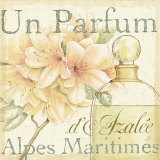 Fleurs and Parfum III Arte di Daphne Brissonnet