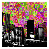 Urban Color III Print by Jean-François Dupuis
