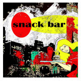 Snack Bar III Prints by Jean-Fran&#231;ois Dupuis