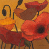 Poppy Curry II Prints by Shirley Novak