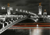 Pont Alexandre III Posters by Jean-jacques Bernier