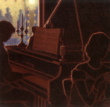 Piano Bar III Prints by Denis Nolet