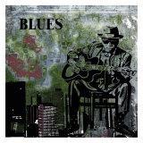 Blues II Poster by Jean-François Dupuis
