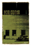 Las Vegas, Vice City in Green Art by Pascal Normand