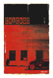 Chicago, Vice City in Red Prints by Pascal Normand