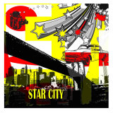 Star City I Print by Jean-François Dupuis