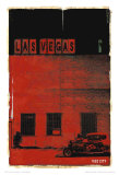 Las Vegas, Vice City in Red Prints by Pascal Normand