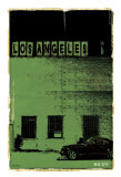 Los Angeles, Vice City in Green Print by Pascal Normand