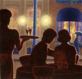 Piano Bar I Prints by Denis Nolet