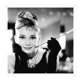 Audrey Hepburn in Breakfast at Tiffany's Poster
