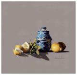 Urne et Citron Affiches par  Bedarrides