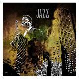 Jazzi I Affiches par Jean-François Dupuis