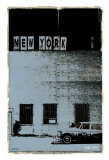 New York, Vice City in Grey Prints by Pascal Normand