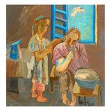 Do Up in Barber Giclee Print by Zhang Yong Xu