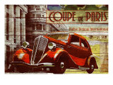 Coupe de Paris Giclee Print by Kate Ward Thacker