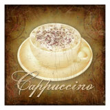 Cappuccino Giclee Print by Kate Ward Thacker