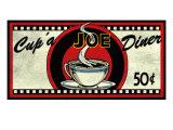 Cup 'a Joe Diner Giclée-Druck von Kate Ward Thacker