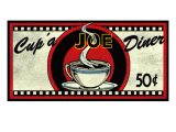 Cup 'a Joe Diner Giclee Print by Kate Ward Thacker