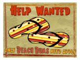 Help Wanted Giclee Print by Kate Ward Thacker