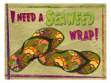 Seaweed Wrap Giclee Print by Kate Ward Thacker