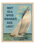 Not all who Wander Giclee Print by Kate Ward Thacker