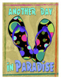 Another Day in Paradise Giclee Print by Kate Ward Thacker