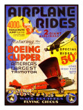 Flying Circus Giclee Print by Kate Ward Thacker
