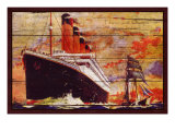 Titanic, Aged Giclee Print by Kate Ward Thacker