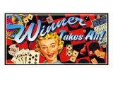 Winner Takes All Giclee Print by Kate Ward Thacker