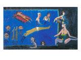 The Midsummer in Pool Giclee Print by Zhang Yong Xu