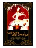 Culinaire et Gastronomique Giclée-tryk af Kate Ward Thacker