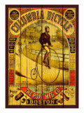 Columbia Bicycle Reproduction procédé giclée par Kate Ward Thacker