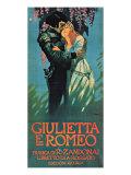 Giuletta e Romeo Giclee Print