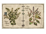 Herb Journal Giclee Print by Kate Ward Thacker