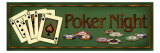 Poker Night Giclée-Druck von Kate Ward Thacker
