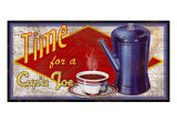 Time for a Cup'a Joe Giclee Print by Kate Ward Thacker