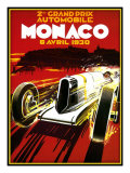 Monaco Reproduction procédé giclée par Kate Ward Thacker