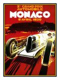 Monaco Giclée-Druck von Kate Ward Thacker
