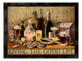 Living the Good Life Impression giclée par Kate Ward Thacker