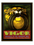 Vigor Tires Giclee Print by Kate Ward Thacker