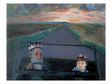 Country Road, Take Me Home Giclee Print by Zhang Yong Xu