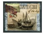 Catch of the Day Giclee Print by Kate Ward Thacker